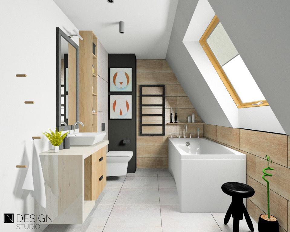 łazienka W Stylu Nowoczesnym In Design Studio Usługi